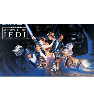 Fototapeta: Star Wars Return of the Jedi (1) - 184x254 cm