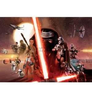 Fototapeta: Star Wars The Force Awakens (1) - 184x254 cm