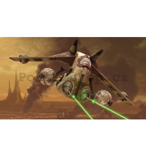 Fototapeta: Star Wars Attack of the Clones (1) - 254x368 cm