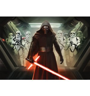Fototapeta: Star Wars The Force Awakens (3) - 184x254 cm