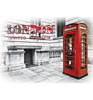 Fototapeta: London, United Kingdom - 184x254 cm