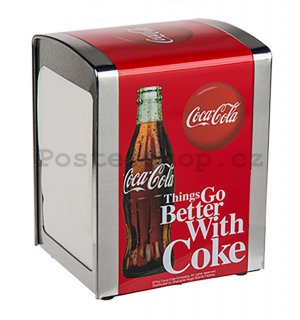 Stojan na ubrousky - Coca-Cola (Things Go Better With Coke)