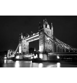 Fototapeta: Tower Bridge (2) - 184x254 cm