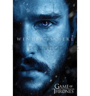 Plakát - Game of Thrones (Winter is Here - Jon)