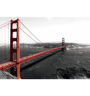 Fototapeta vliesová: Golden Gate Bridge (1) - 184x254 cm