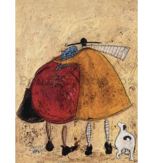 Obraz na plátně - Sam Toft, Hugs on the Way Home