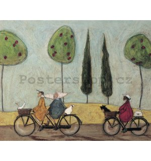 Obraz na plátně - Sam Toft, A Nice Day for It