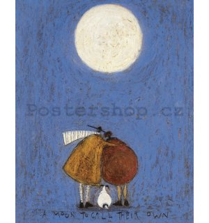 Obraz na plátně - Sam Toft, A Moon to Call Their Own