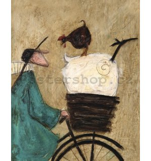 Obraz na plátně - Sam Toft, Taking the Girls Home