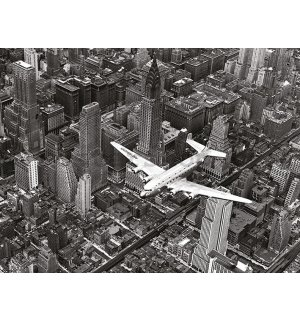 Obraz na plátně - Time Life, DC-4 Over Manhattan