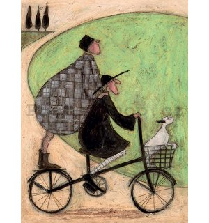Obraz na plátně - Sam Toft, Double Decker Bike