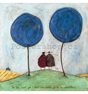 Obraz na plátně - Sam Toft, The Day I Met You