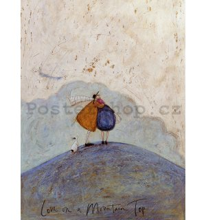 Obraz na plátně - Sam Toft, Love on a Mountain Top