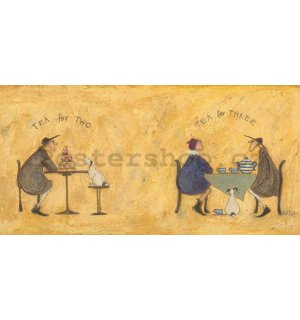 Obraz na plátně - Sam Toft, Tea For Two Tea For Three