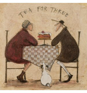 Obraz na plátně - Sam Toft, Tea For Three 2
