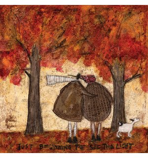 Obraz na plátně - Sam Toft, Just Beginning To See The Light