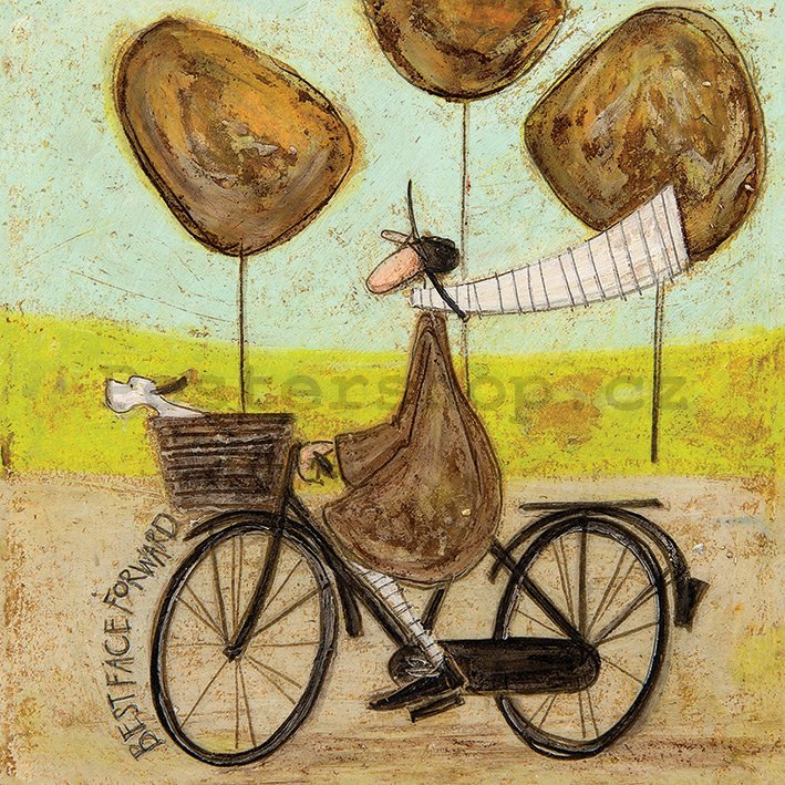 Obraz na plátně - Sam Toft, Best Face Forward