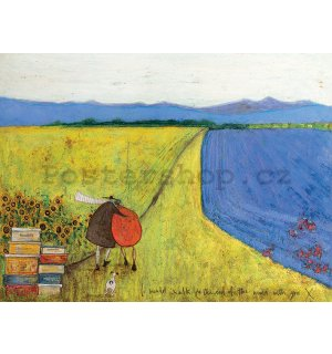 Obraz na plátně - Sam Toft, I Would Walk to the End of the World with You