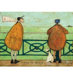Obraz na plátně - Sam Toft, I Hope I'm Always with You