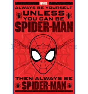 Plakát - Spiderman (Always be Yourself)