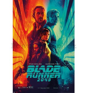 Plakát - Blade Runner 2049 (Fire nad Ice)