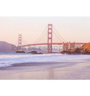 Fototapeta: Golden Gate Bridge (4) - 184x254 cm
