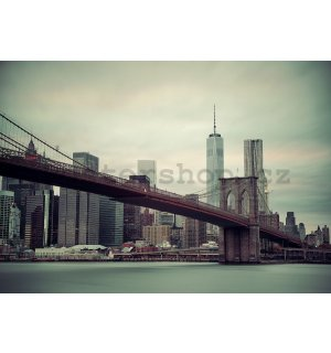 Fototapeta: Brooklyn Bridge (2) - 254x368 cm