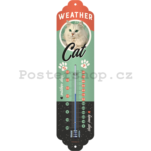Teploměr - Weather Cat