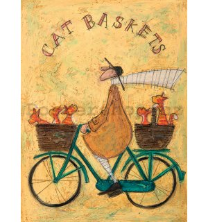 Obraz na plátně - Sam Toft, Cat Baskets