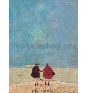 Obraz na plátně - Sam Toft, Big Skies