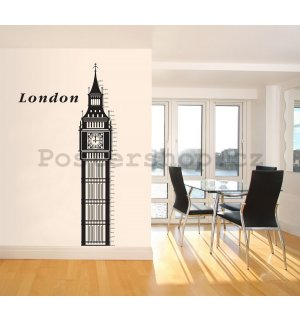 Samolepka - London (Big Ben)