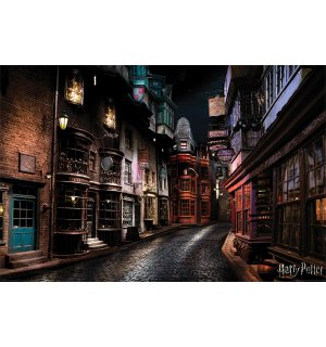 Plakát - Harry Potter (Diagon Alley)