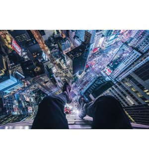 Plakát - On The Edge Of Times Square