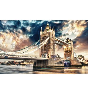 Fototapeta vliesová: Tower Bridge (3) - 416x254 cm