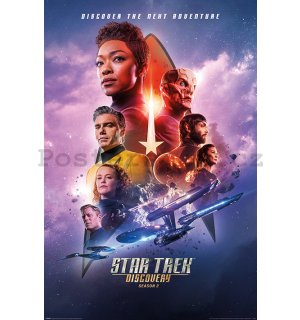 Plakát - Star Trek Discovery (Next Adventure)