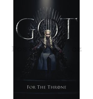 Plakát - Game of Thrones (Daenerys For the Throne)