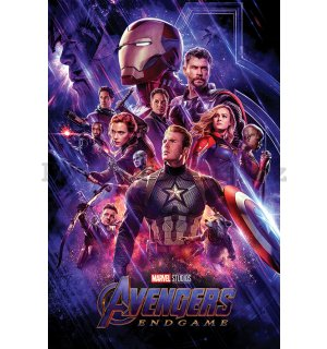 Plakát - Avengers Endgame (Journeys End)