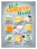 Plechová cedule: The Best Cheese of the World - 30x40 cm