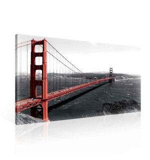 Obraz na plátně: Golden Gate Bridge (3) - 75x100 cm