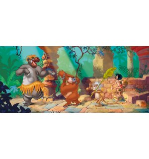 Fototapeta vliesová: The Jungle Book (panorama)  - 202x90 cm