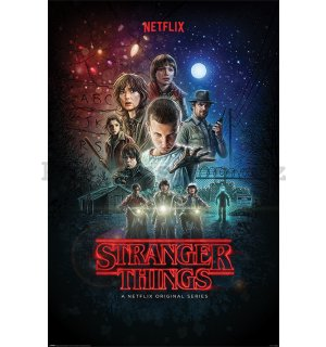 Plakát - Stranger Things (One Sheet)