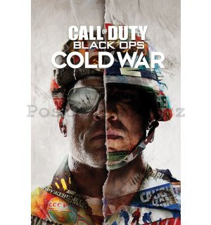 Plakát - Call Of Duty Cold War (Split)